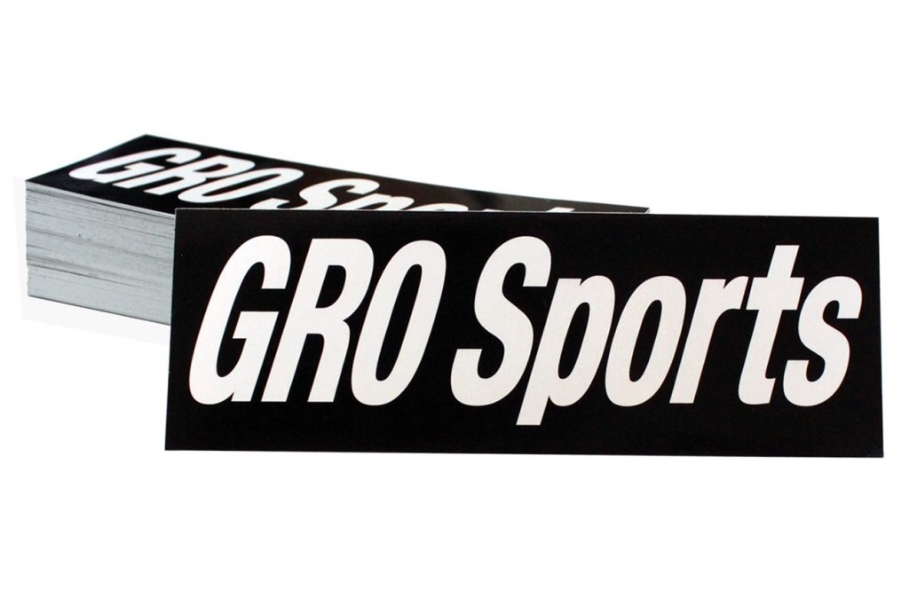 GRO Sports Product shoot