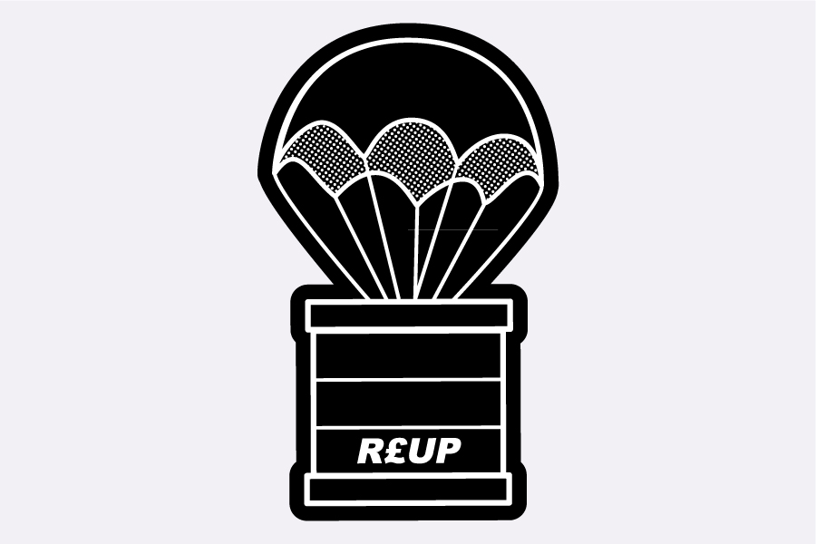R£UP Care Pack Logo Design